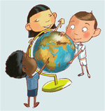 Vignette pour un objet LOM J'ai des droits : regards et questions sur les droits de l'enfant