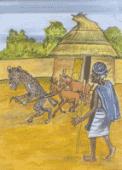 Preview image for LOM object L'hyène et les chèvres de la vieille femme : un conte du Mali