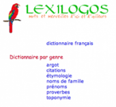 Vignette pour un objet LOM Travailler la définition à l'aide de Lexilogos.com