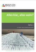Preview image for LOM object Alles klar, alles wahr? : Medien und Medienbeiträge verstehen, Zyklus 2