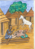 Preview image for LOM object Pourquoi le cheval ne parle-t-il pas ? : un conte du Mali