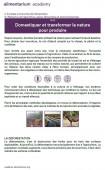 Preview image for LOM object Domestiquer et transformer la nature pour produire nos aliments