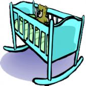Vignette pour un objet LOM Un berceau dans la chambre d'ado