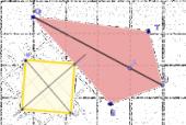 Vignette pour un objet LOM Construction de quadrilatères (GeoGebra)