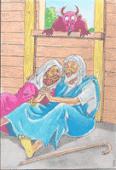 Vignette pour un objet LOM Le diable et la beauté : un conte de Mauritanie