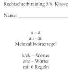 Preview image for LOM object Rechtschreibtraining 1