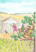 Preview image for LOM object Les singes Golos et leur chef : un conte de Mauritanie