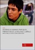 Preview image for LOM object Critères de bonnes pratiques prévention de la violence juvénile