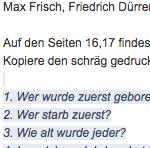 Preview image for LOM object Schulsprache Deutsch, Lesen : Webbasierte Ergänzungen zum obligatorischen Sprachbuch (8. SJ)