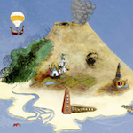 Preview image for LOM object Découverte de l'image : l'île des pirates